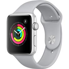 Apple Watch 3 GPS 42mm Silver Aluminum Case With Fog Sport Band